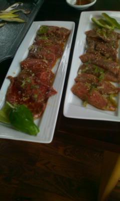 八ヶ岳自然塾焼き肉2