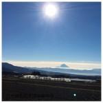 冷え込んだ朝の富士山と南アルプス最高!そしてモコカフェ