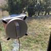 友達が窓をロボット掃除機で拭いてた