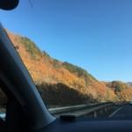 八峰の湯へ行く道すがらの紅葉