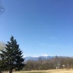 おはよう南アルプスと北岳