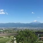 五月晴れの富士山