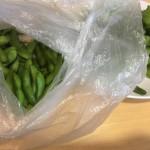 ひとりで枝豆1.5キロを3日で完食