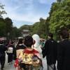 鎌倉の鶴岡八幡宮での結婚式