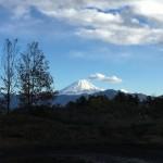 富士山の雪が増えたような気がする