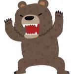 この付近で熊が目撃されました