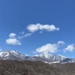 あまりに美しい今日の八ヶ岳