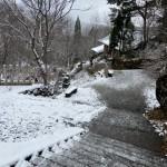 まさかの雪の戸隠からの〆は呑み処あるじ