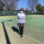 テニスで汗かいた